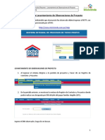 NSTP - Instructivo para las ET - Levantamiento de Observaciones de Proye