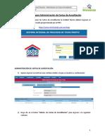 NSTP - Instructivo Para Las Entidades Técnicas - Administración de Cartas de Acreditación