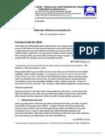 Materi Mentoring PBPK UB 2019