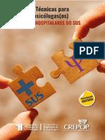 Referências Técnicas para atuação de psicólogas(os) nos serviços hospitalares do SUS