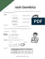 IV BIM - 3er. Año - ALG - Guía 5 -  Progresión Geométrica.doc