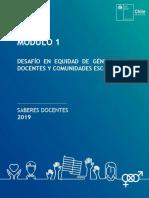 DESAFÌO EN EQUIDAD DE GÉNERO