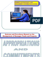 4. Bgy Appropriations & Commitments Revised .4.10.07