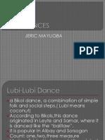 Jeric Mayugba Folk Dances