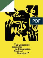VI Congresso Nacional de Psicanálise, Direito e Literatura
