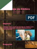 El viaje de Chihiro ppt