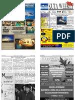 "Kuta Weekly-Edition 208 ""Bali""s Premier Weekly Newspaper"""