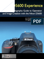 Nikon D5600 Experience