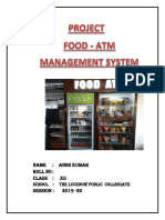 Food Atm Project
