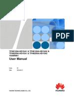 TP48120A-HD15A1 & TP48120A-HD15A2 & TP48200A-HD15A1 & TP48200A-HD15A2 V500R001 User Manual 02