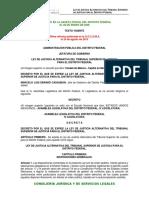 Ley de Justicia Alternativa Del Tribunal Superior de Justicia Para El Df 1