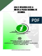 MANUAL DE LA GUIA DE LA POLICIA NACIONAL DE COLOMBIA