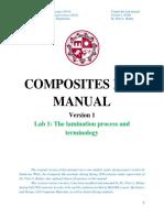 CSUN Composites Lab Manual Ver 1 2016 Lab 1