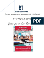 Guía Familias Bachillerato 2018