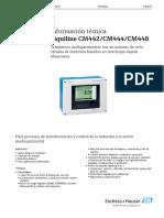 CONTROLADOR TURBIDIMETRO E+H CM44X