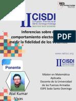 Inferencia ecologica elecciones Ecuador