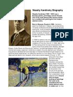 Wassily Kandinsky Biography