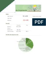 orçamento mensal