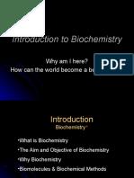 Introcution Lecture Biochem