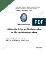 Trabajo de Diploma. Utilización de Perfiles Laminados en Frío en Sistemas de Pisos