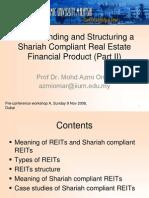 Structuring Islamic REIT Part 2 - NOV 2008