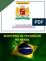 Panorama Da História Da Psicanálise No Brasil
