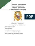 Informe de Fiqu II Equilibrio Liquido Vapor