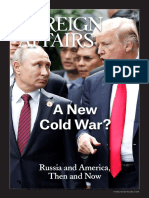 A New Cold War Russia and America, Then and Now 2018 Final