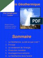 Les Energies Geothermiques