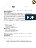 Manual de Instrucción- Whiteness HP MAXX