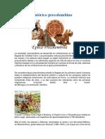 Contexto Histórico Precolombino