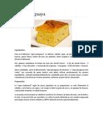 Comidas Tipicas del paraguay