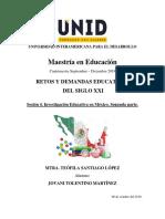 Investrgación Educativa en México