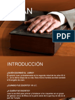 1 Juan Exposición