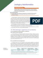 Biotecnología y bioinformática