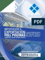 Catalogo de Full Piscinas Corp
