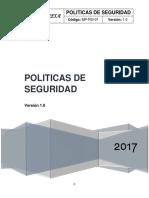 Anexo C - Politicas de Seguridad