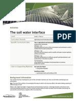 Soil Water Interface Rural Source