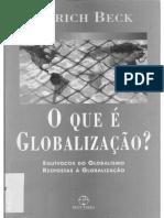 Beck, Ulrich. o Que é a Globalização