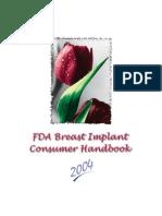 FDA Breast Implant Consumer Handbook 2004