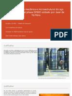 Caracterização Mecânica e Microestrutural Do Aço Automotivo Dual