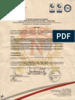 Certificado de Notas