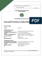 Acta Liquidacion Tránsito Pendiente