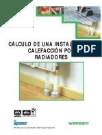 Cálculo de Una Instalación de Calefacción Por Radiadores