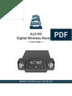 A10 RX User Guide 2.70