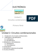 Electrónica - Circuitos combinacionales