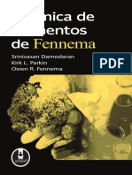 Química de Alimentos Fennema 4 ed.