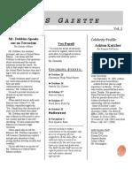The AMS Gazette October 2006