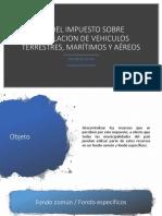 Ley Del Impuesto Sobre Circulacion de Vehiculos