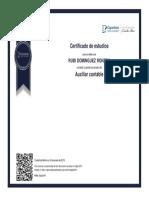 CERTIFICADO AUXILIAR CONTABLE